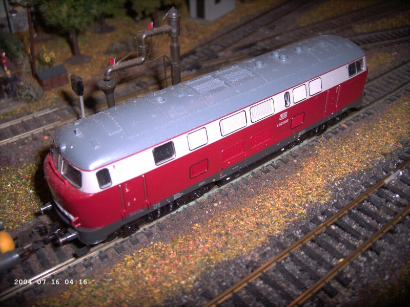 Roco H0 - V160 003 Museumsedition Pict1326
