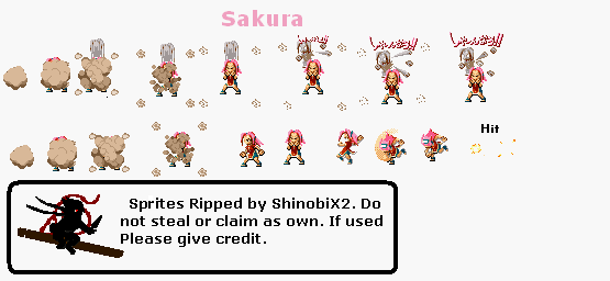 Sprites Naruto Sakura10