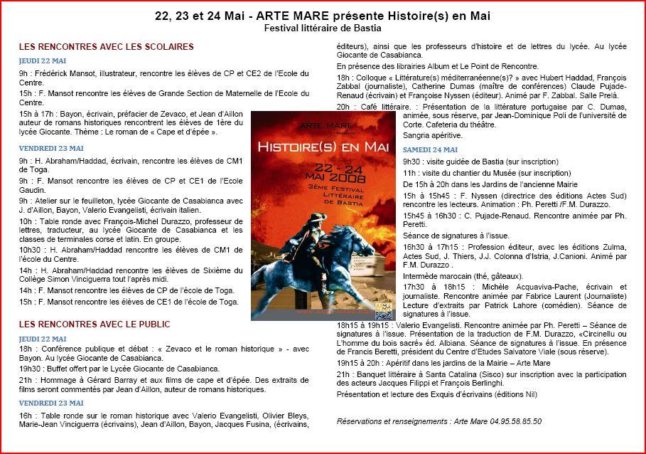François Michel Durazzo au festival Arte Mare Arte_m10