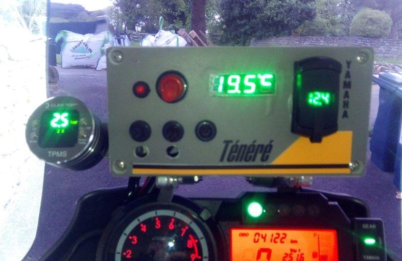 Surveillance de pression dans les pneus Pressi10