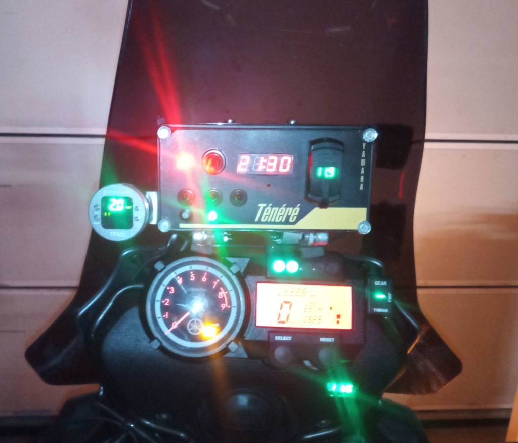 Surveillance de pression dans les pneus Xt10