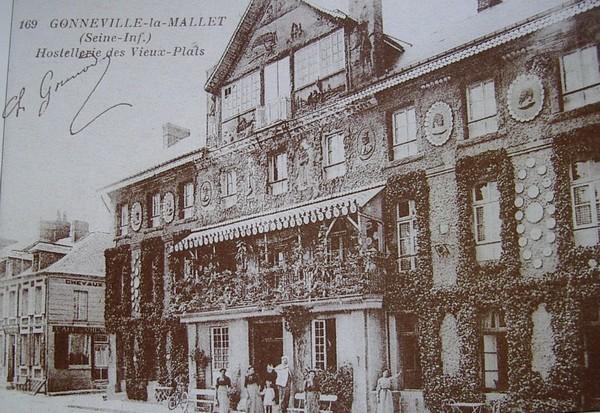 L'auberge des Vieux Plats à Gonneville-la-Mallet Auberg10