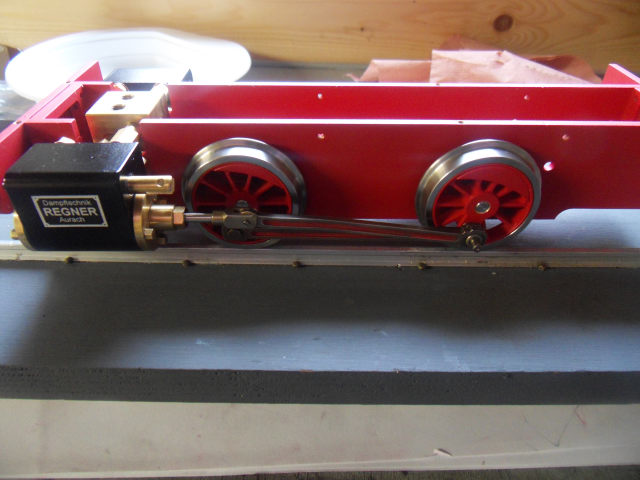Emma steam locomotive build Emma1410