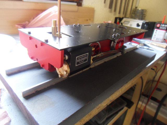 Emma steam locomotive build Emma1510