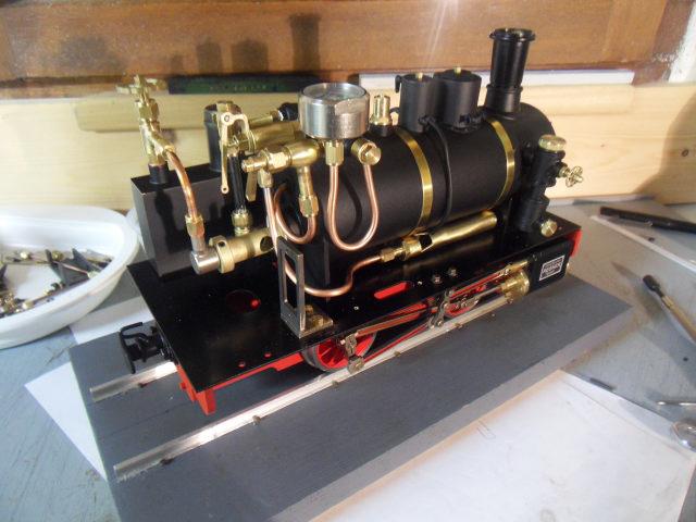 Emma steam locomotive build Emma3010