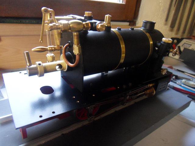 Emma steam locomotive build Emma3210