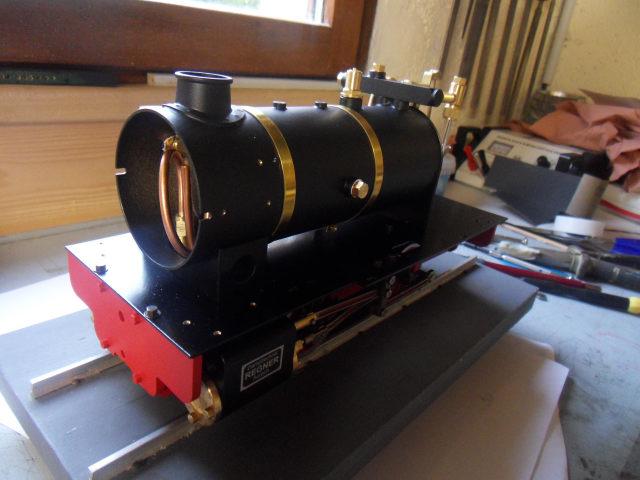 Emma steam locomotive build Emma3310