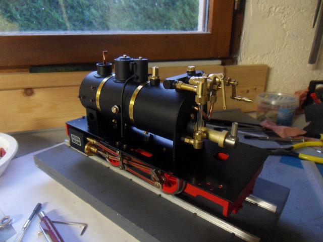 Emma steam locomotive build Emma3510