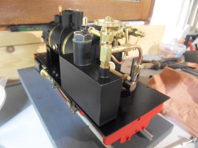 Emma steam locomotive build Emma3610
