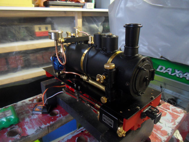 Emma steam locomotive build Emma5210