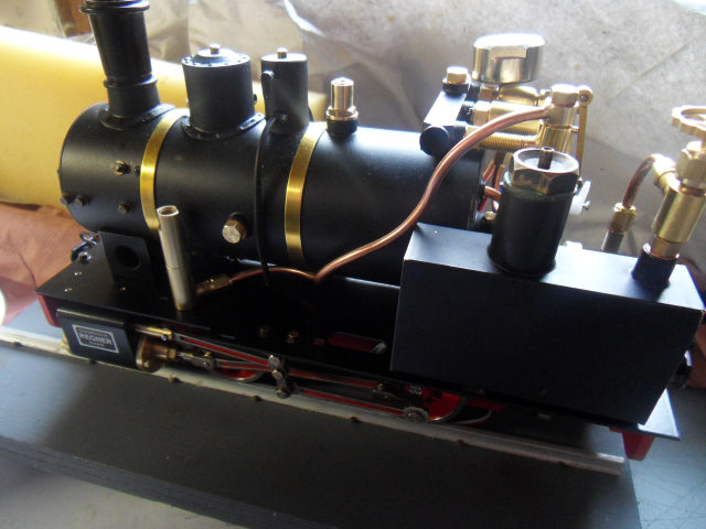 Emma steam locomotive build Emma5310