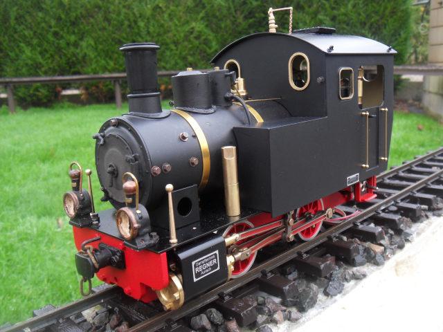 Emma steam locomotive build Emma6210
