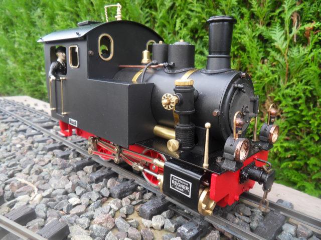 Emma steam locomotive build Emma6310