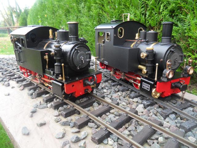 Emma steam locomotive build Emma6410