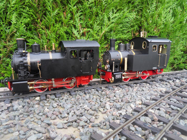 Emma steam locomotive build Emma6510
