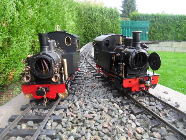Emma steam locomotive build Emma6610
