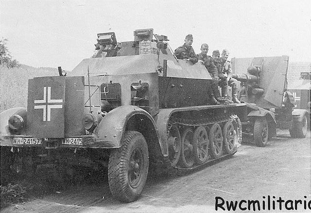 sdkfz 7 armoured 80005010
