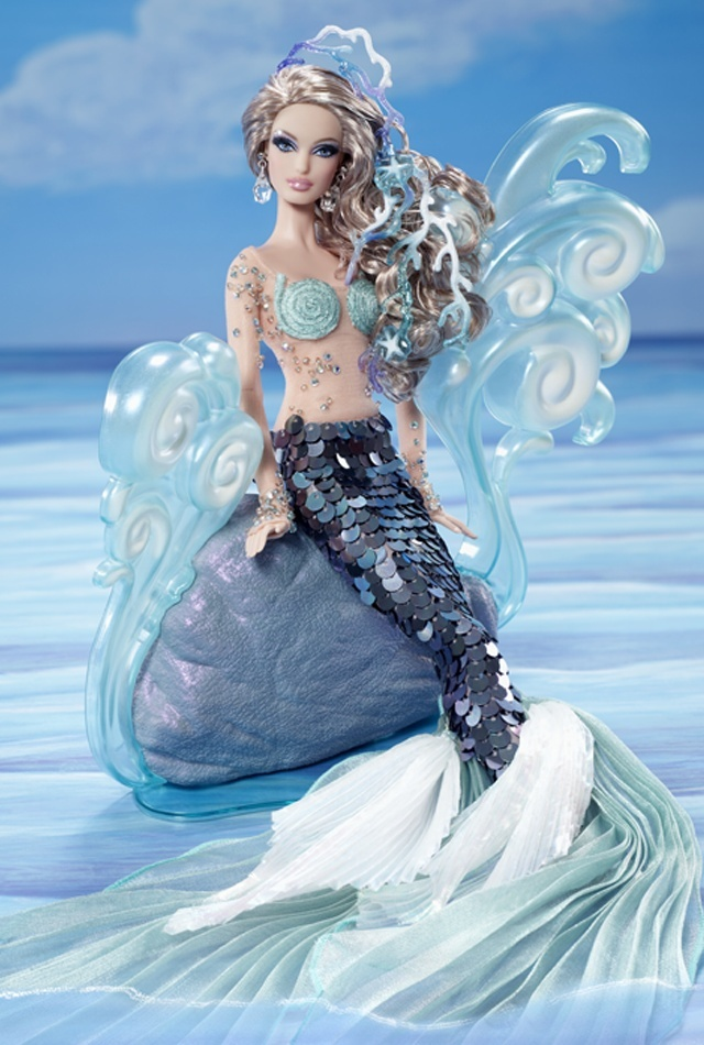 The Mermaid Barbie® Doll W3427110