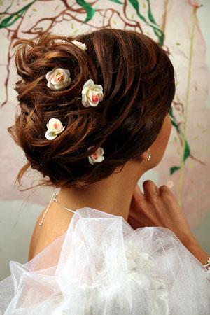 Прическа невесты! 2610