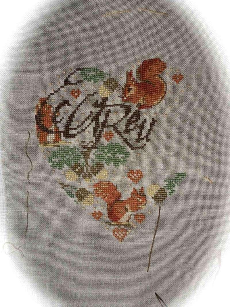 """SAL """" Coeur écureuil """" d' I.Vautier """" S_a_l_10"""