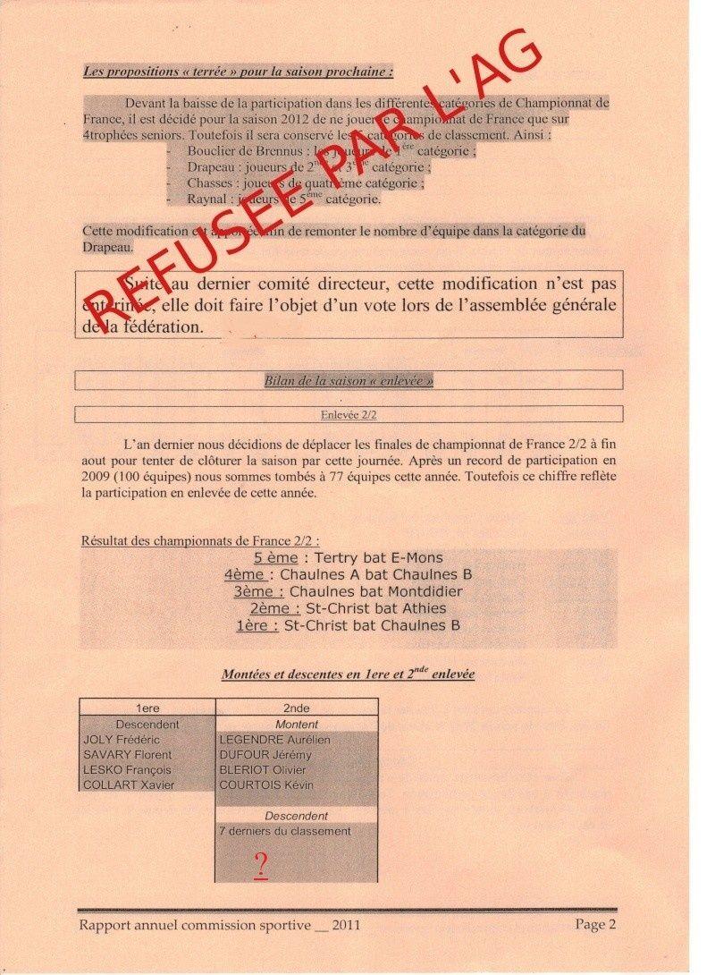 bilan seniors 2011 (montées,descentes : Ex,1ère,2ème) Partie10