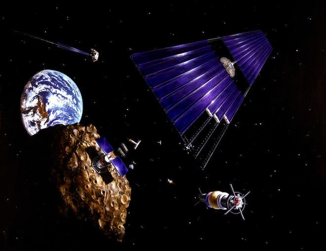 Tout sur le projet fou pour ramener un astéroïde sur Terre Astero10