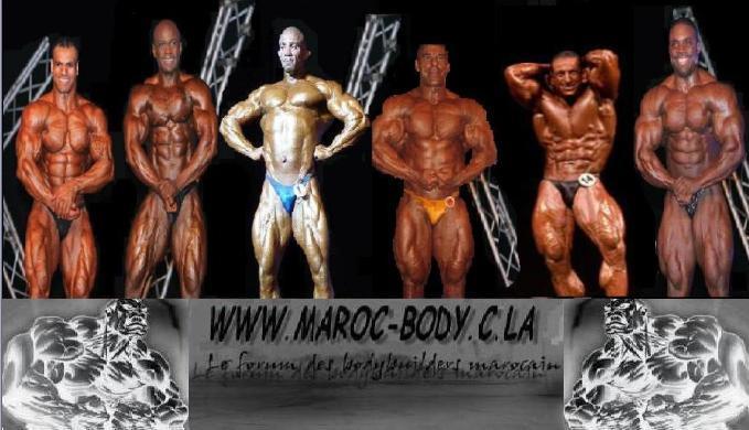 bodybuilder maroc