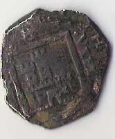 8 Maravedis de Felipe IV (Burgos, ¿1622 d.C?) 111