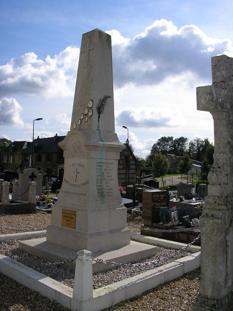 Louvetot - Monument aux morts Louvet10
