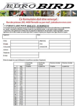 COTISATIONS ET COMMANDES DE BAGUES 2019 EUROBIRD  Form_o10