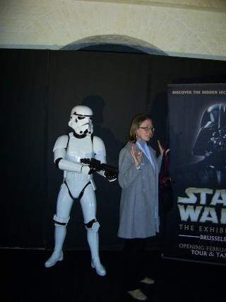 Bruxelles 2008: expo Star Wars Sa400112