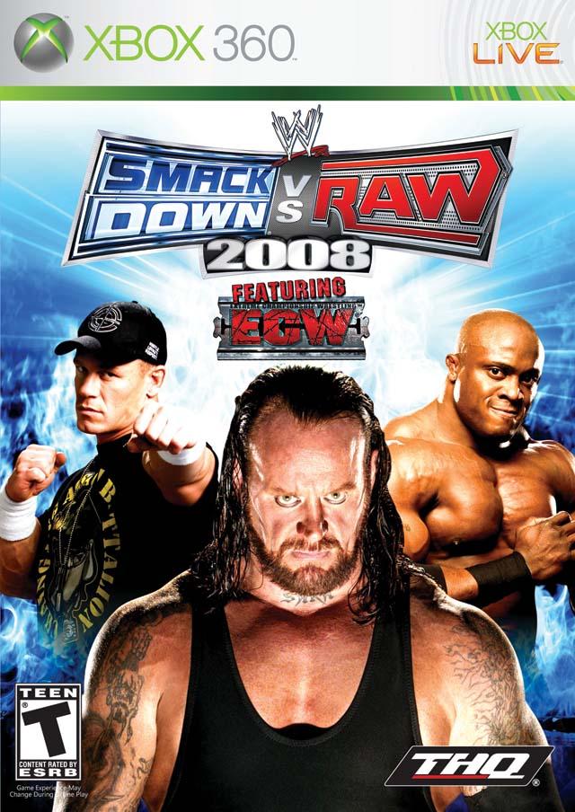 Smackdown vs Raw 08 - Xbox 360 (PAL) 28wjrf10