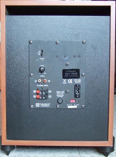 Sub Mivoc SWW 4000 + Xover Reckhorn S1 Mivoc211