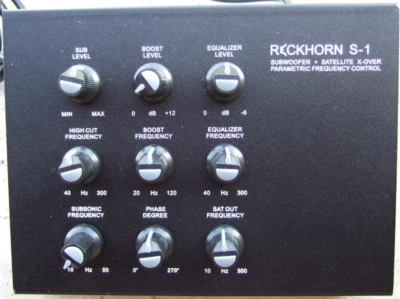 Sub Mivoc SWW 4000 + Xover Reckhorn S1 Reckho10
