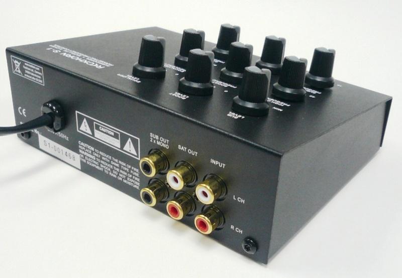 Sub Mivoc SWW 4000 + Xover Reckhorn S1 S-1bac10