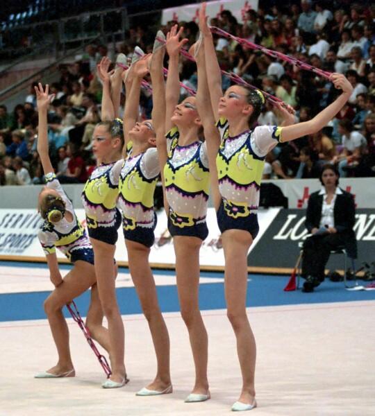 championnats du monde Madrid 2001 Cerven11