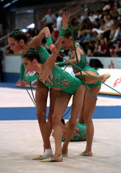 championnats du monde Madrid 2001 Italia11