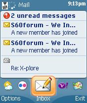 Yahoo! Go V2.00 Beta Java Screen13