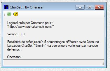 CharSet [Logiciel amateur ] Screen10
