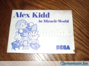 Notice d'Alex Kidd In Miracle World Notice10