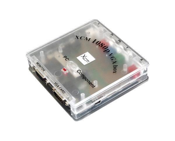 XCM VGA BOX 1080p Xcm12