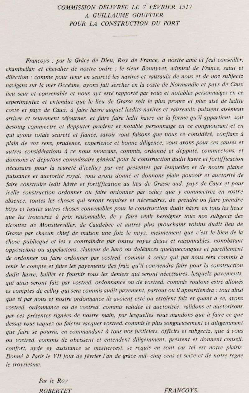 1517- Fondation Havre, BONNIVET, Du CHILLOU, GAUVAIN, FÉRÉ ... 151710