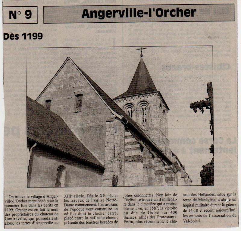 Histoire des communes - Angerville-l'Orcher Angerv10