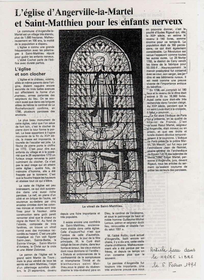 Histoire des communes - Angerville-la-Martel Angerv15