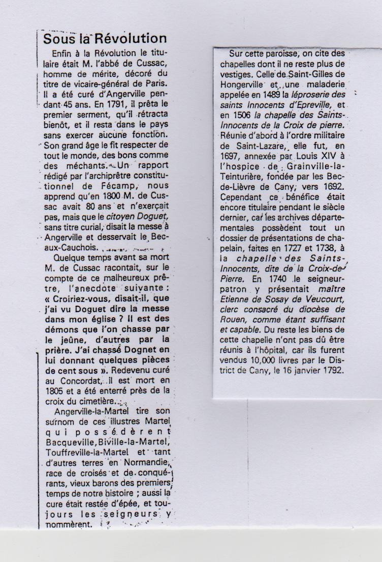 Histoire des communes - Angerville-la-Martel Angerv16