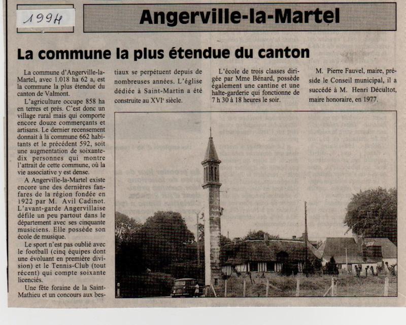 Histoire des communes - Angerville-la-Martel Angerv17