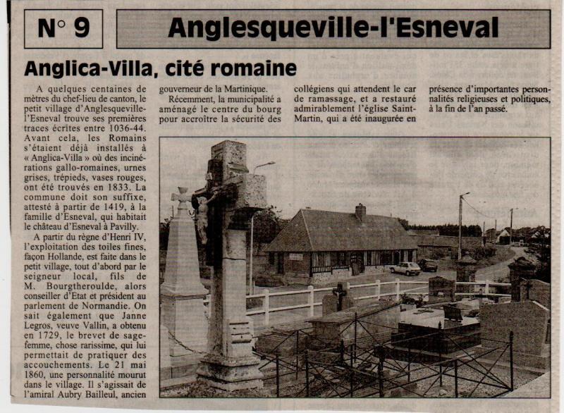 Esneval - Histoire des communes - Anglesqueville-l'Esneval Angles10