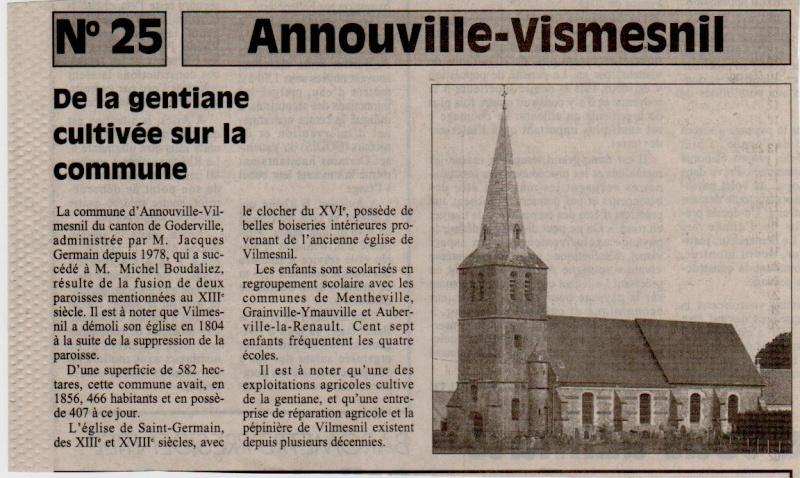 Histoire des communes - Annouville-Vilmesnil Annouv11