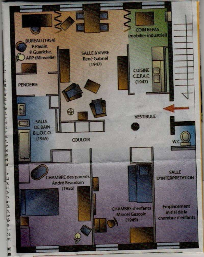 Le Havre - L'appartement témoin Perret Appart10