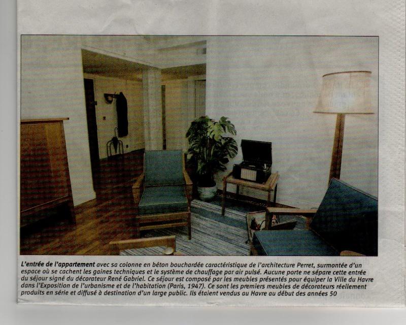 Le Havre - L'appartement témoin Perret Appart12